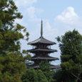 西円堂からの五重塔