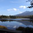 知床五湖の二湖からの景色